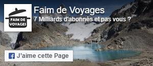 Faim de voyages est sur Facebook