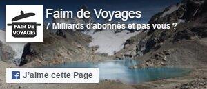 Faim de Voyages - Blog Voyage sur Facebook