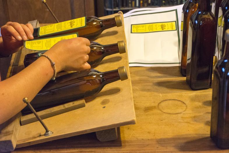 Wwoofing volontariat San Rafael Mendoza Argentine viticole vigne pose etiquettes