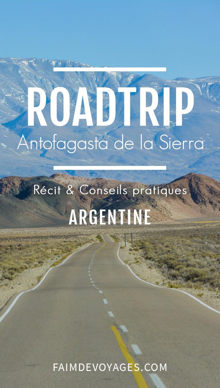 Antofagasta De La Sierra En Argentine En Route