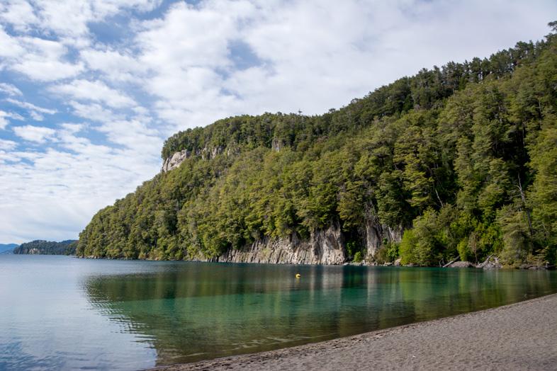bosque arrayanes villa la angostura parc national argentine vue depuis la baie