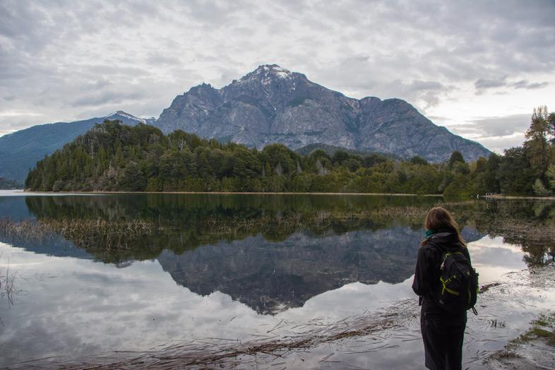 Lago-escondido-parque-llao-llao-bariloche-randonnee-trekking-argentine