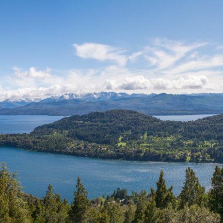 POSTSHOW panorama vue depuis cerro campanario trekking bariloche randonnee