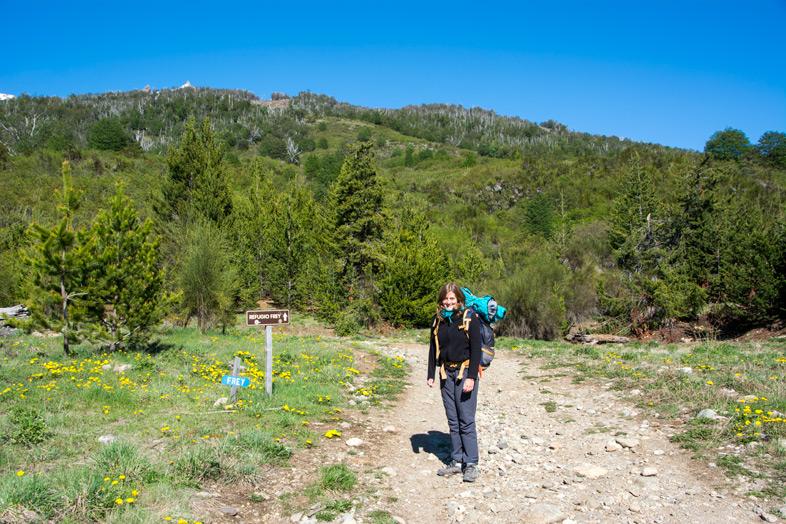 Refuge-Frey-randonnee-trekking-bariloche-argentine-cecilia-sur-le-sentier