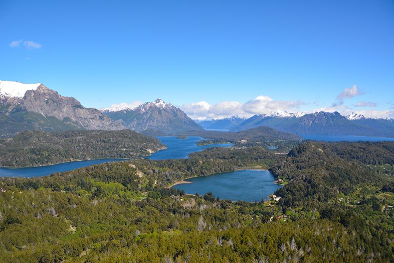 cerro campanario bariloche point de vue panormarique argentine