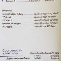 ascencion volcan lanin argentine distances
