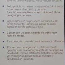 ascencion volcan lanin argentine recommandations conseils