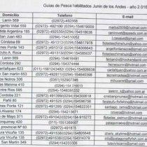 guides peche argentine junin de los andes route 7 lacs