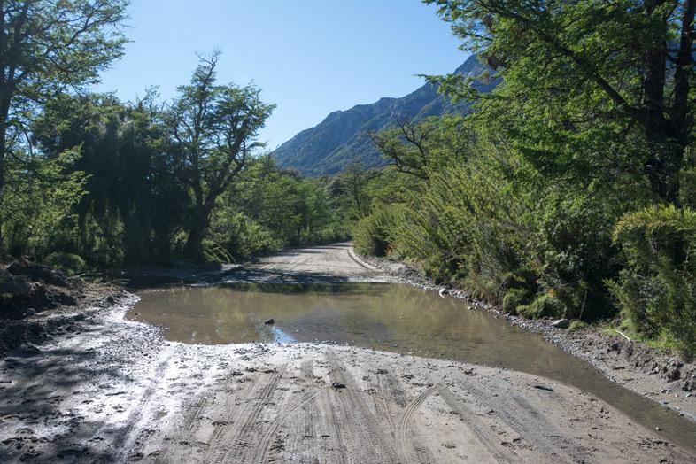 route a villa traful riviere coupe la route des 7 lacs argentine