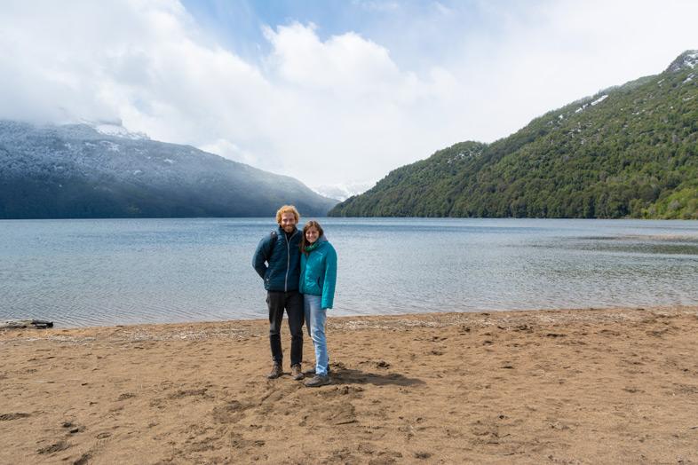 san martin de los andes route des 7 lacs argentine cecilia tim posent lac