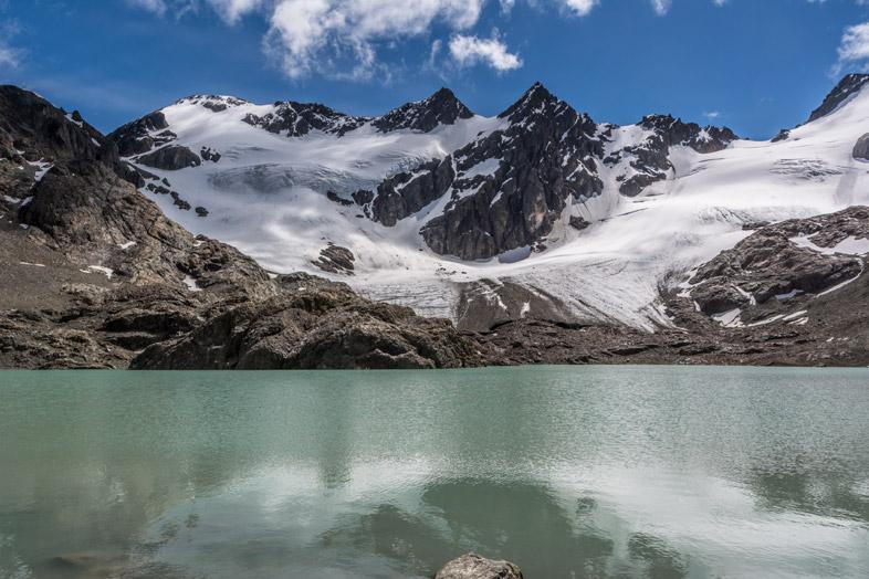 glaciar-vinciguerra-randonnee-trekking-ushuaia-vue-laguna-tempanos-glacier