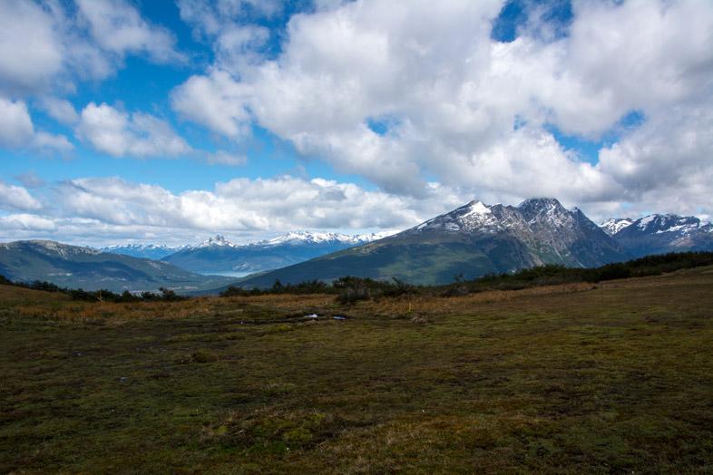 arrivee sur le plateau du cerro guanaco Parc national tierra del fuego Argentine Ushuaia