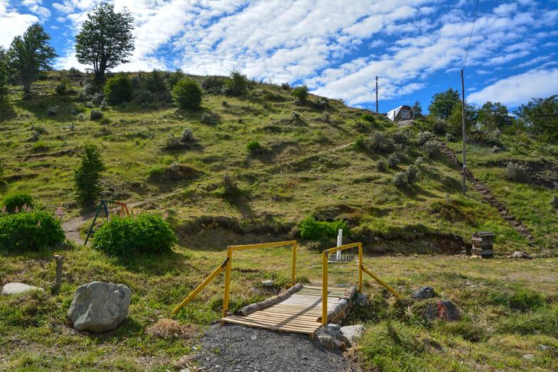 cerro del medio ushuaia randonnee trekking acces