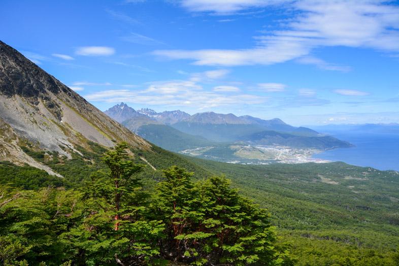 cerro-del-medio-ushuaia-randonnee-trekking-vue-foret