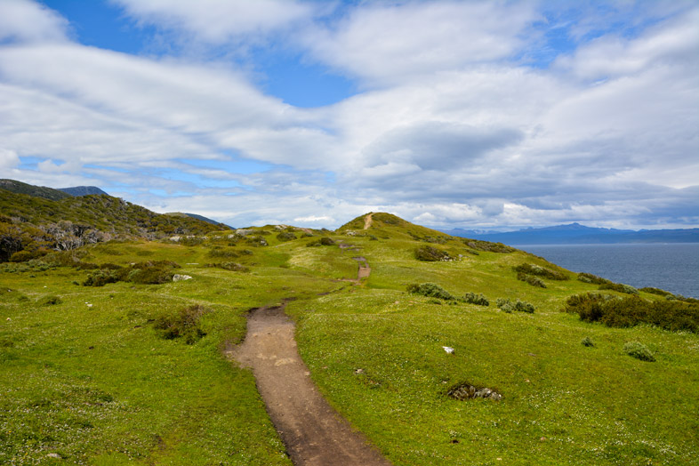 chemin de playa larga randonnee trek ushuaia argentine