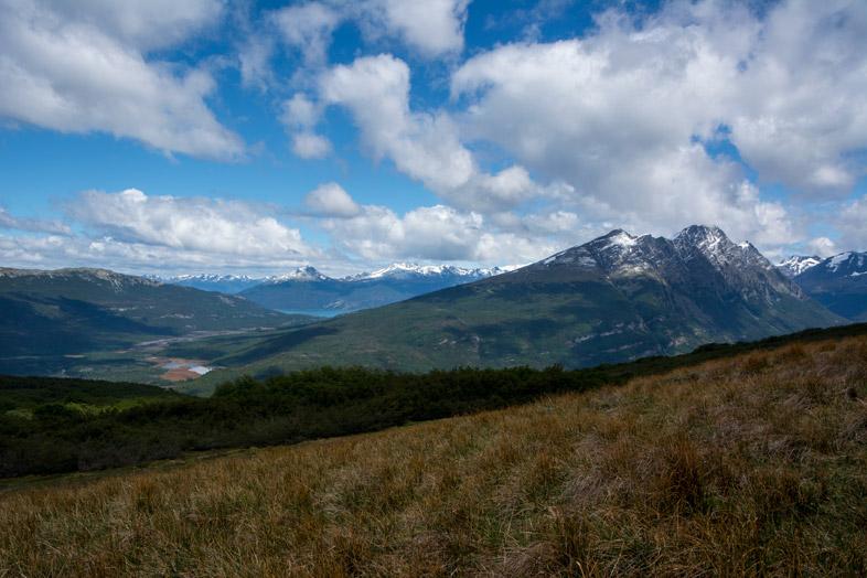 descente du cerro guanaco Parc national tierra del fuego Argentine Ushuaia