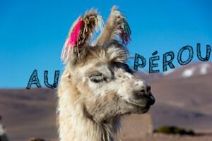 Itinéraire en Amérique du Sud - Pérou