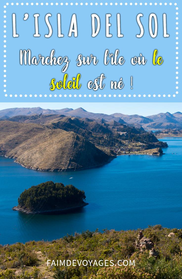 Marchez Sur L Isla Del Sol Bolivie