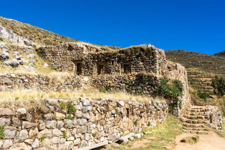 palais de l inca pilkokaina lac titicaca bolivie isla del sol