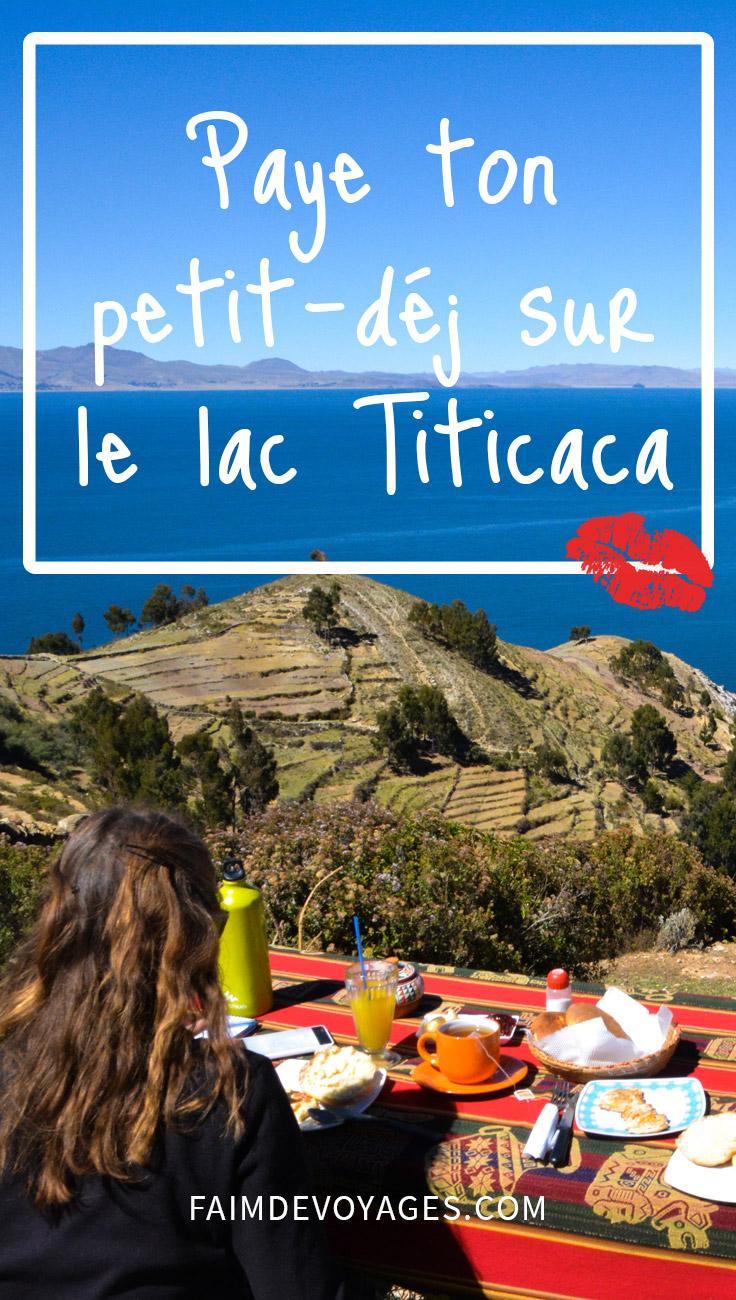 Paye Ton Petit Déj Lac Titicaca