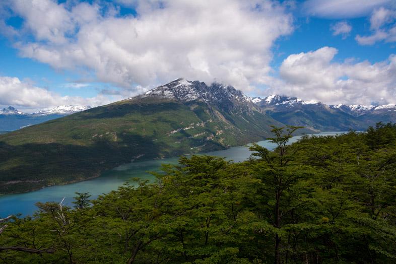 vue depuis cerro guanaco Parc national tierra del fuego Argentine Ushuaia