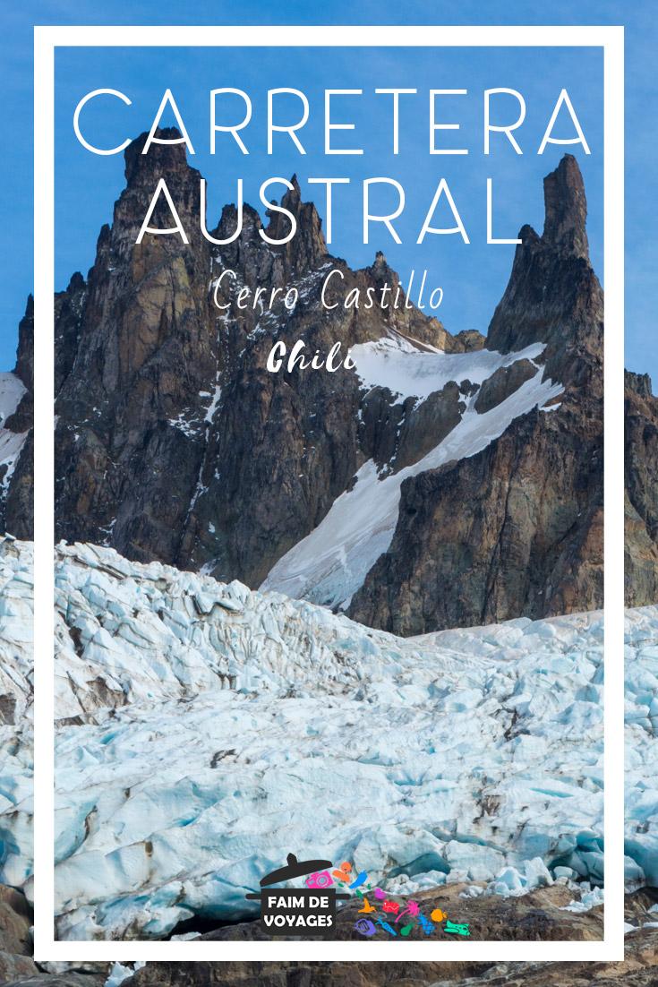 Carretera Austral Cerro Castillo Glacier
