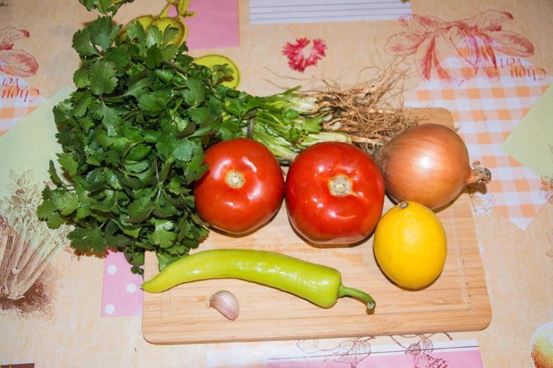 ingredients frais pebre chileno chilien recette
