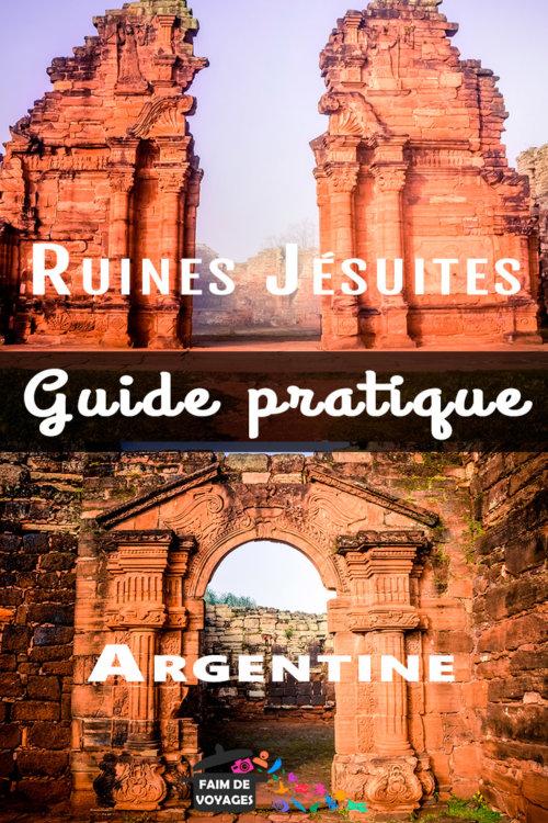 Ruines jésuites dans la région de Misiones en Argentine Pinterest