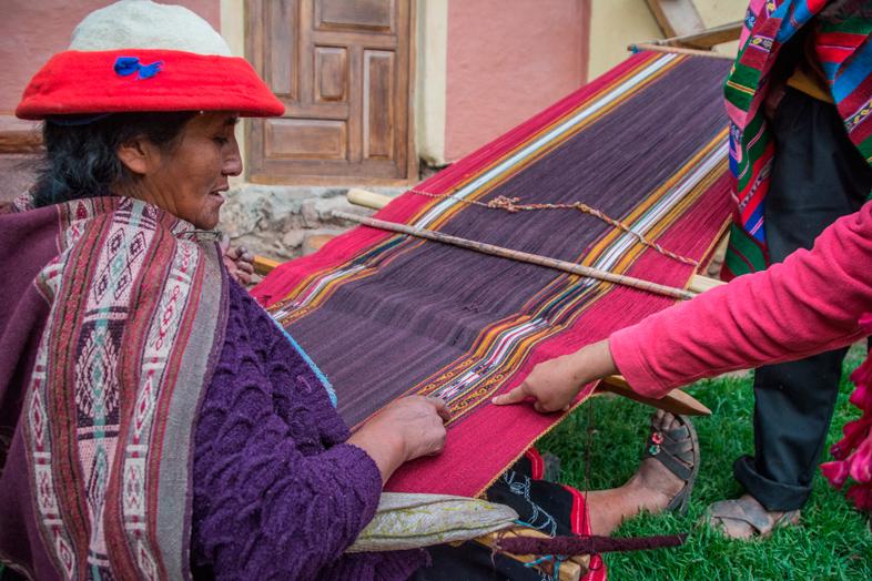 art textile tourisme visite cuzco