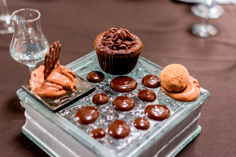 dessert chocolat chez Uchu le restaurant à Cusco