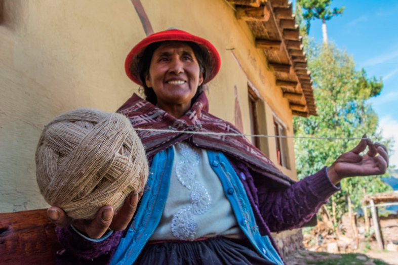 filage textile perou artisanal cusco