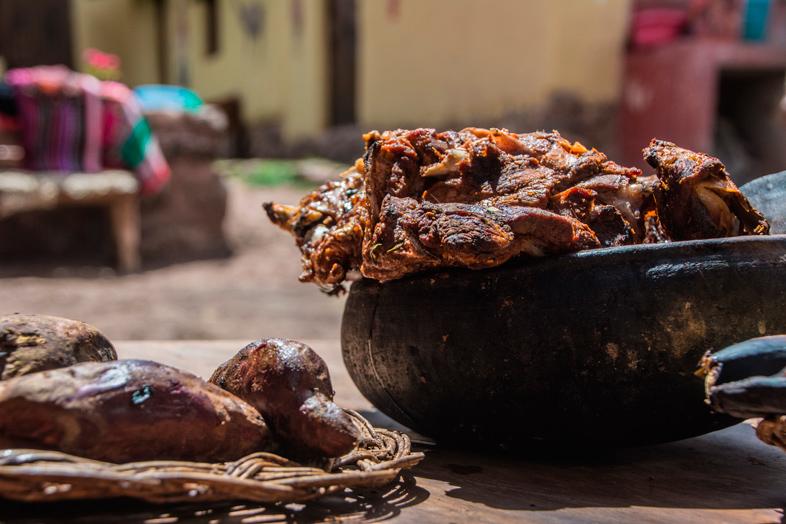 pachamanca specialite peru cusco
