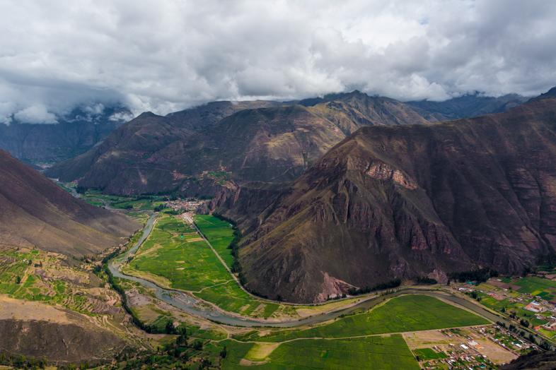 paysage vallee sacree perou