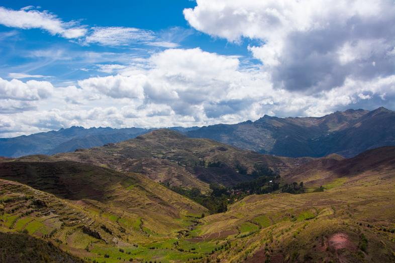 paysage vallee sacree terasse andine cusco
