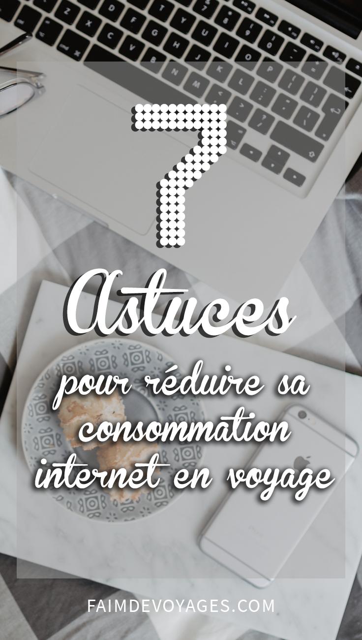 Astuces à Appliquer Pour Réduire Sa Consommation Internet En Voyage