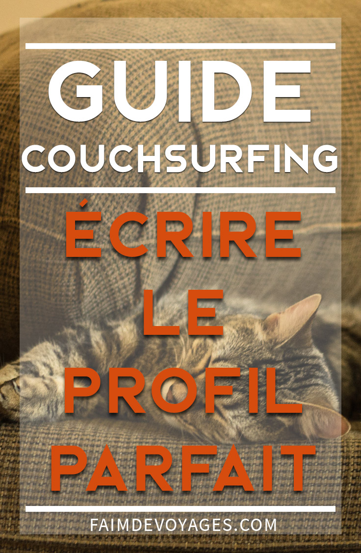 couchsurfing guide profil