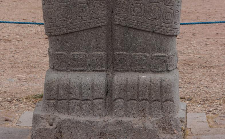monolithe ponce bolivie tiwanaku 1
