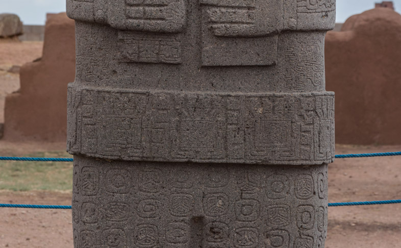 monolithe ponce bolivie tiwanaku 2