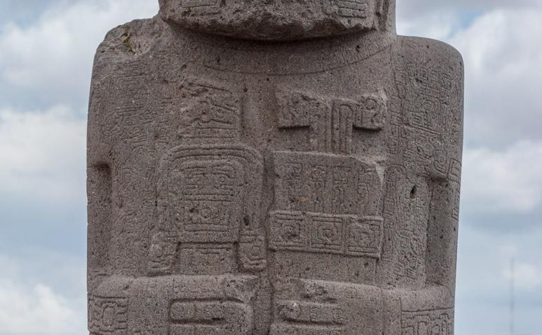 monolithe ponce bolivie tiwanaku 3