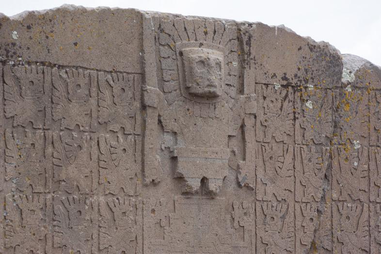 puerta del sol tiwanaku bolivie