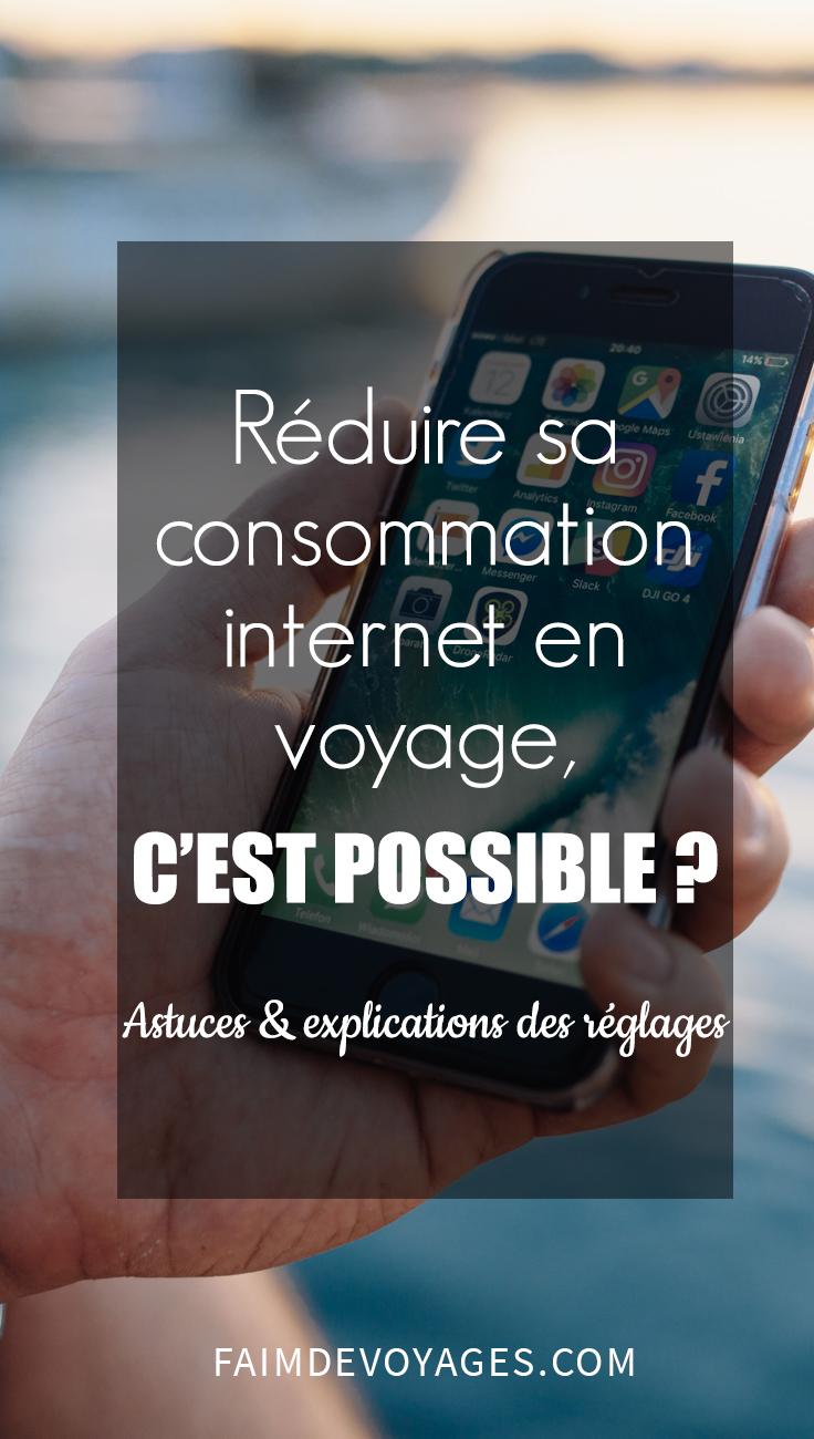 Réduire Sa Connexion Internet En Voyage