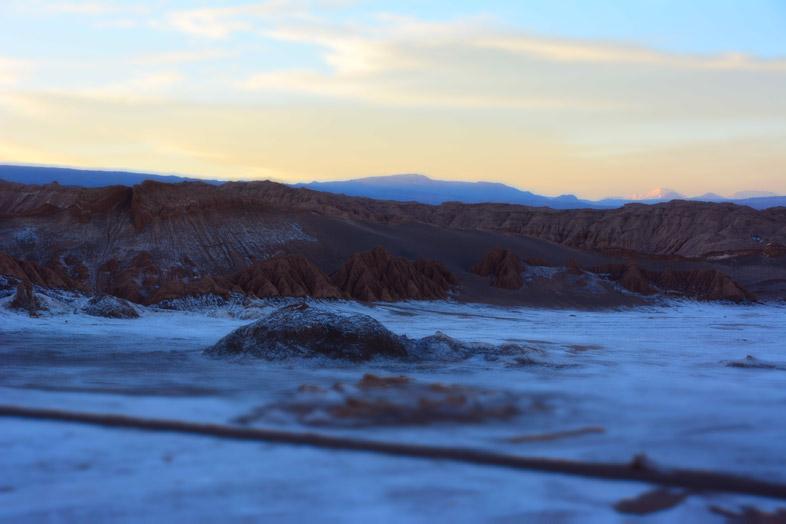 Vallée de la lune à San Pedro de Atacama la nuit
