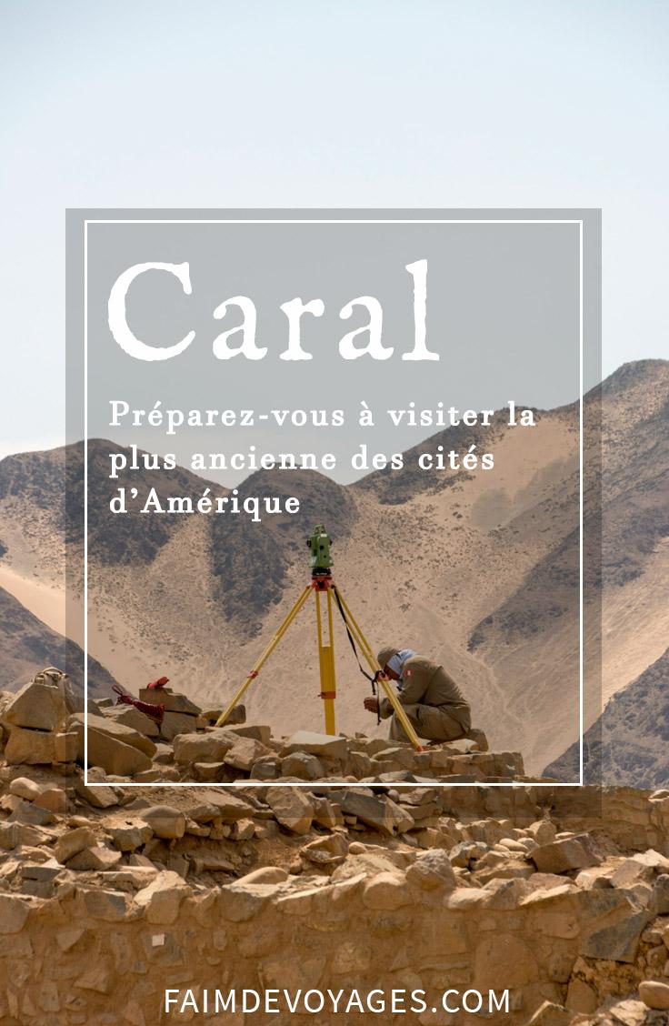 """Visitez la plus ancienne des cités d'Amérique au Pérou. Le site se nomme """"Caral"""", encore méconnu des touristes internationaux, il a pourtant joué un rôle fondamental dans le pays. #Pérou #archéologie #Caral"""