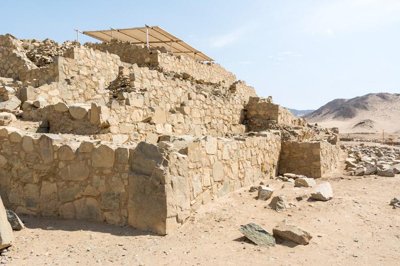 architecture caral pyramide amerique du sud perou