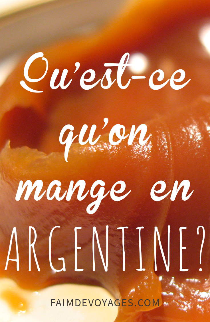 Le Dulce De Leche En Argentine