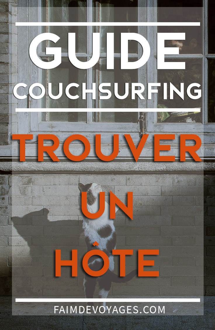 trouver hote couchsurfing guide conseil