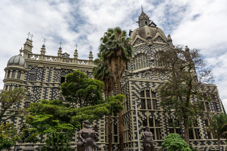 Palacio de la Cultura Rafael Uribe Uribe medellin colombie