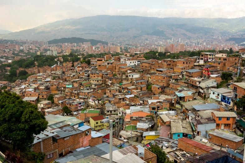mirador quartier colombie medellin comuna 13