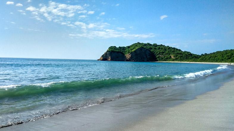 plage de los frailes puerto lopez equateur machalilla