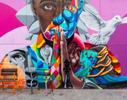 postshow graffiti street art colombia medellin comuna 13 visite 1